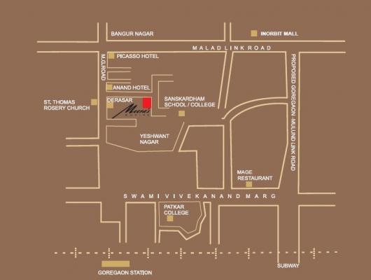 2 BHK 1250 sq-ft, Flat for Sale at Goregaon West - Mumbai